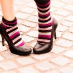 ストッキングと靴下