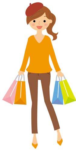 秋のショッピング