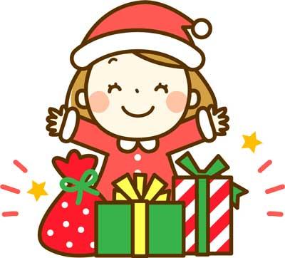 クリスマスの子ども