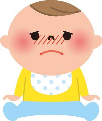 元気がない赤ちゃん
