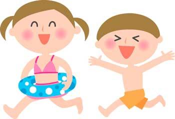 子ども 海水浴