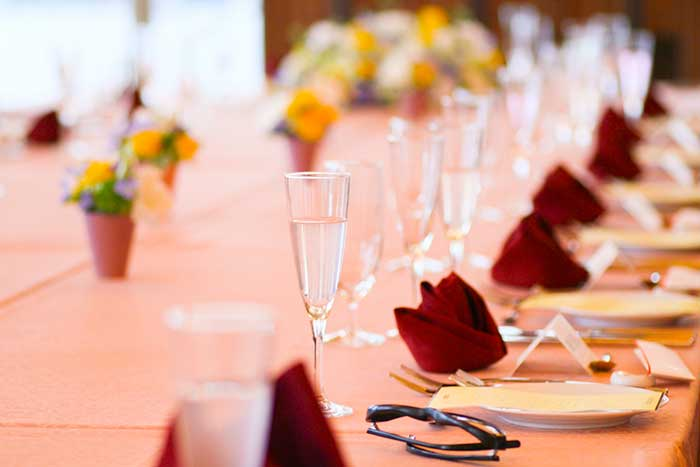 結婚式披露宴