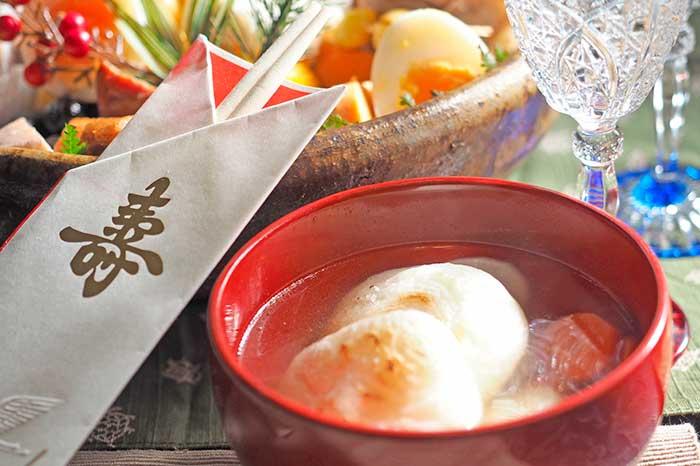 お正月のお雑煮・おせち料理