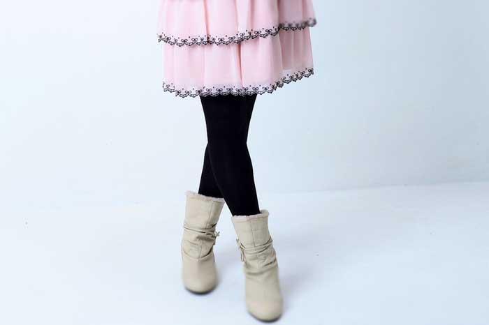 静電気の起きたスカート