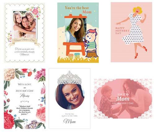 英語の母の日カード