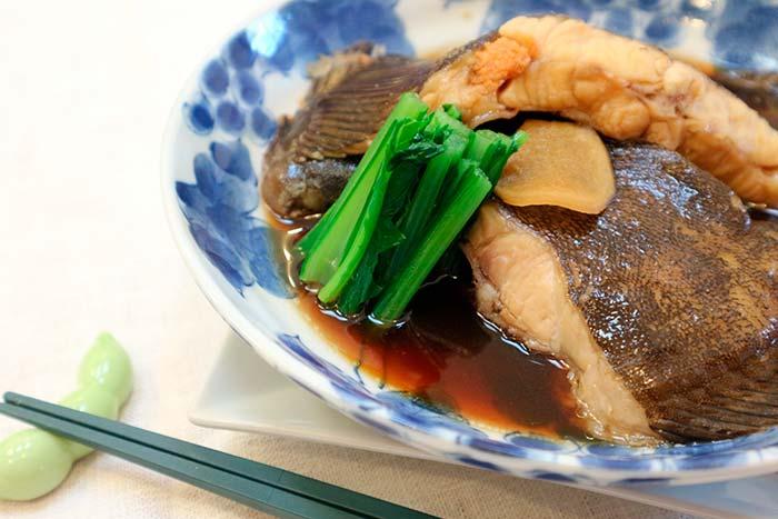おいしそうな煮魚