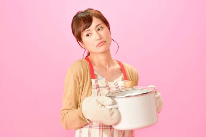料理が面倒な女性