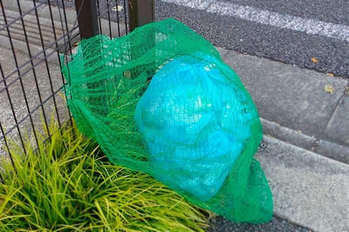 ゴミのカラスよけ対策