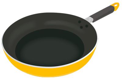 テフロン加工のフライパン