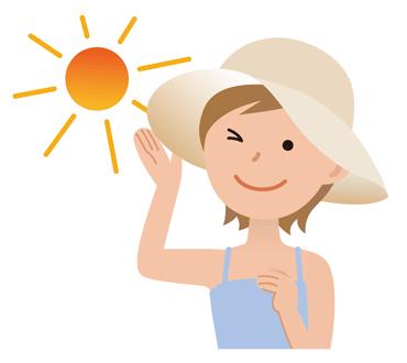 女性の夏の帽子の選び方は?