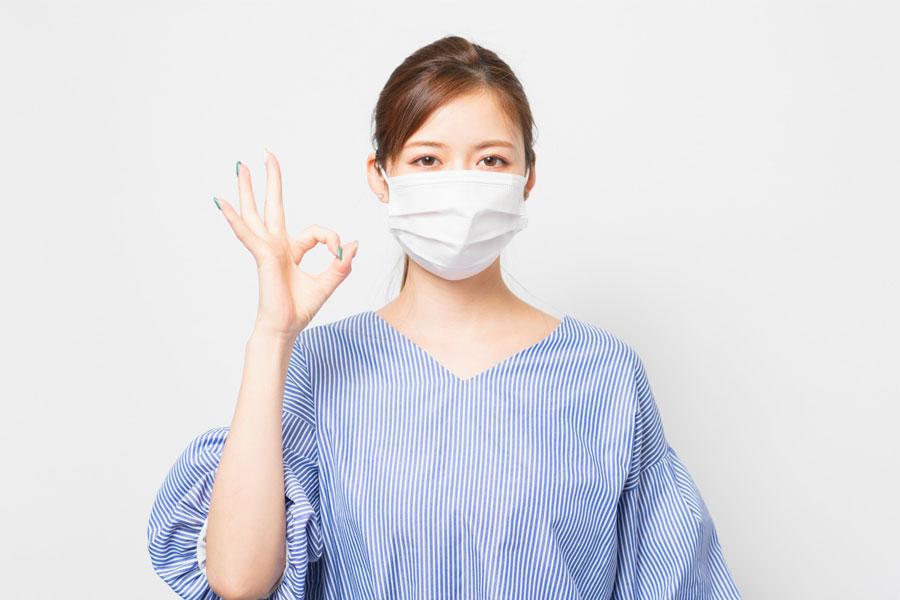 【簡単】マスクにファンデーションの化粧よごれが付くのを防ぐ方法
